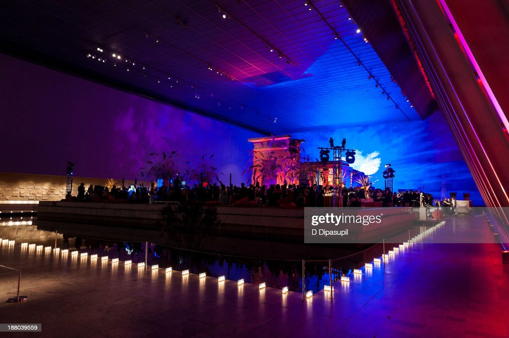 A general view of atmosphere at the 10th annual Apollo Circle benefit at the Metropolitan Museum of Art on November 14, 2013 in New York City.