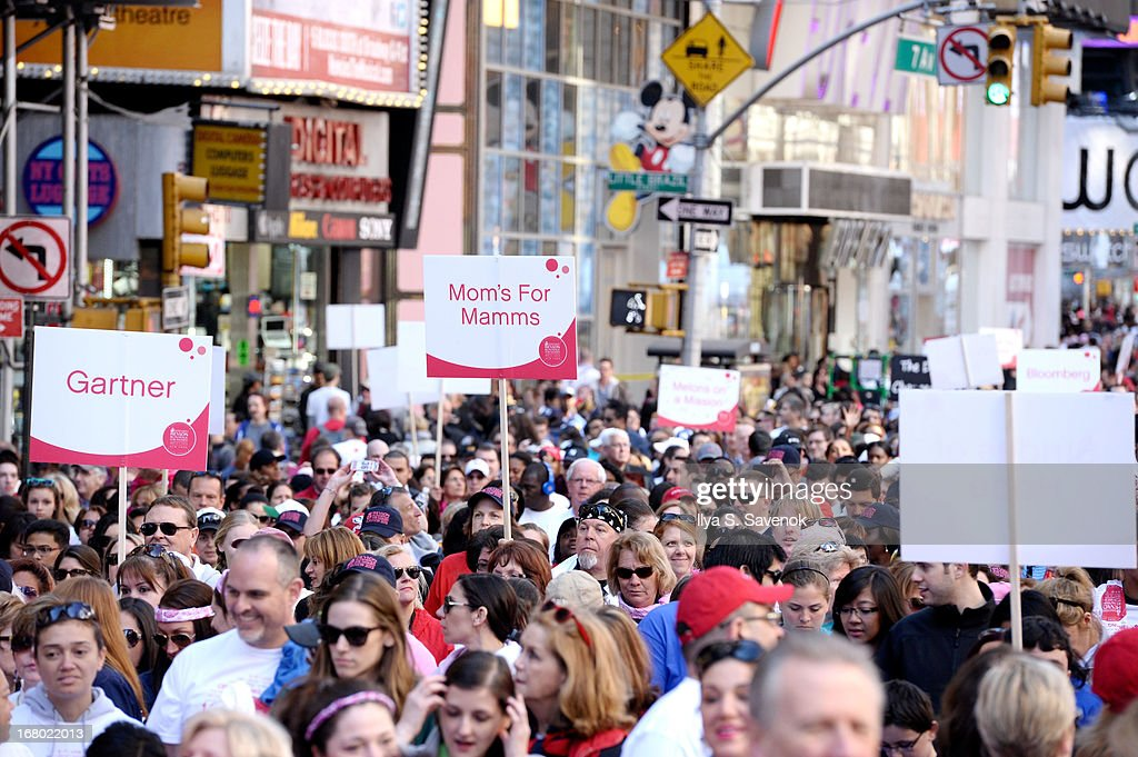 A general view of atmosphere at the 16th Annual EIF Revlon Run Walk For Women on May 4, 2013 in New York City.