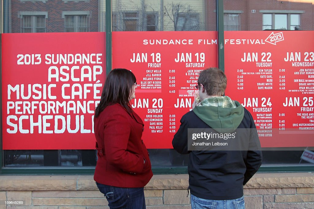 A general view of atmosphere at the 2013 Sundance Film Festival on January 17, 2013 in Park City, Utah.
