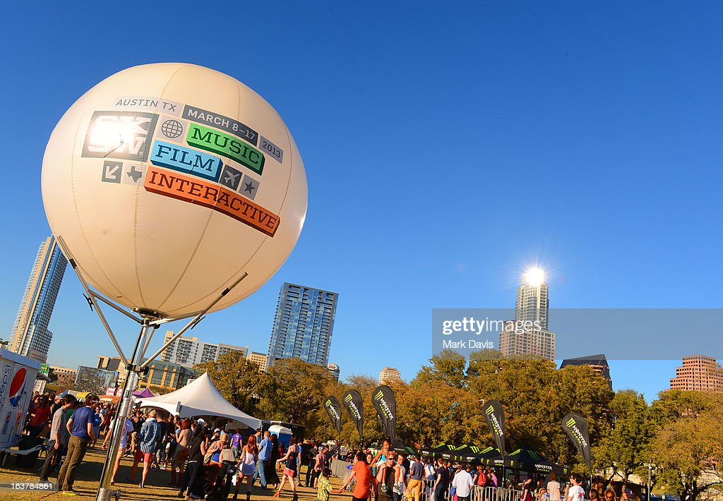 A general view of atmosphere at the 2013 SXSW Music, Film + Interactive Festival held at the Auditorium Shores on March 15, 2013 in Austin, Texas.