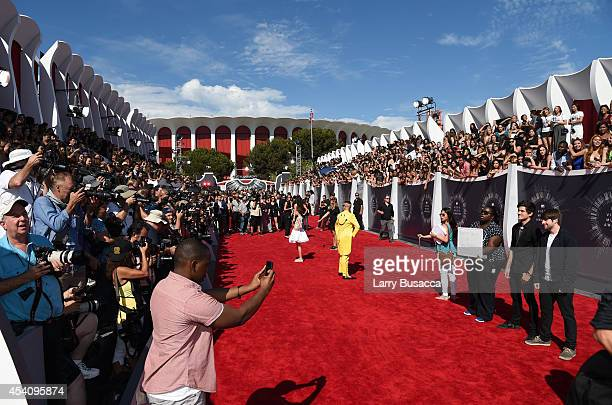General view of atmosphere at the 2014 MTV Video Music Awards at The Forum on August 24 2014 in Inglewood California