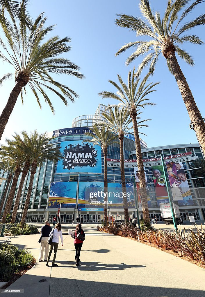 A general view of atmosphere at the 2014 National Association of Music Merchants show media preview day at the Anaheim Convention Center on January 22, 2014 in Anaheim, California.