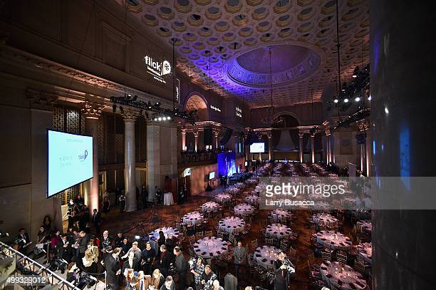 A general view of atmosphere at the 25th IFP Gotham Independent Film Awards cosponsored by FIJI Water at Cipriani Wall Street on November 30 2015 in...