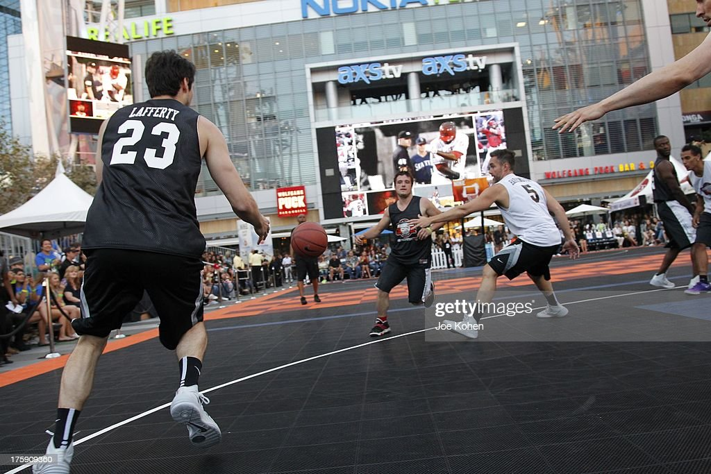 General view of atmosphere at the 2nd Annual Josh Hutcherson Celebrity Basketball Game Benefitting Straight But Not Narrow at L.A. LIVE on August 9, 2013 in Los Angeles, California.