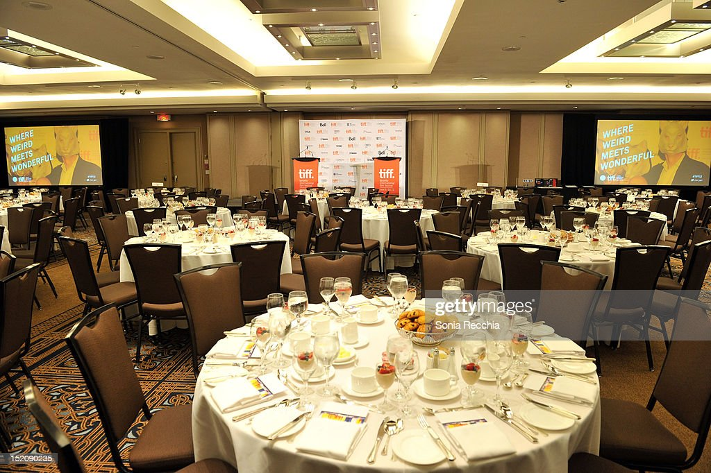 A general view of atmosphere at the 37th Toronto International Film Festival Award Winner Ceremony held at the InterContinental Toronto Center Hotel on September 16, 2012 in Toronto, Canada.
