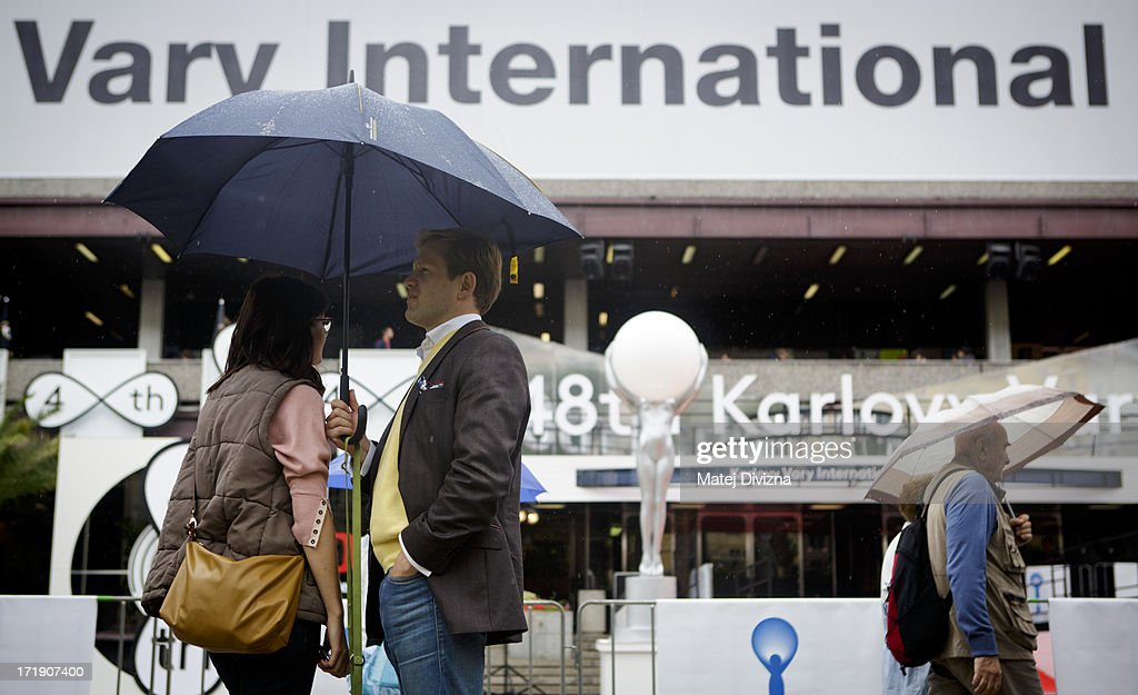 A general view of atmosphere at the 48th Karlovy Vary International Film Festival (KVIFF) on June 29, 2013 in Karlovy Vary, Czech Republic.