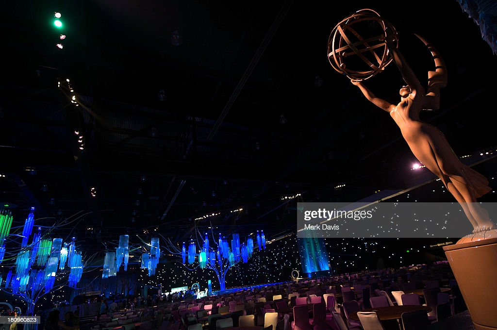 A general view of atmosphere at the 65th Primetime Emmy Awards red carpet roll out and governors ball preview at the Los Angeles Convention Center on September 18, 2013 in Los Angeles, California.