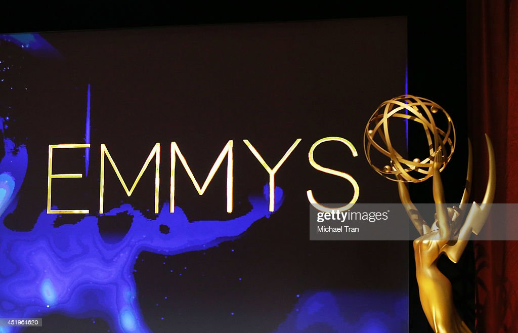 A general view of atmosphere at the 66th Primetime Emmy Awards nominations held at Leonard H. Goldenson Theatre on July 10, 2014 in North Hollywood, California.