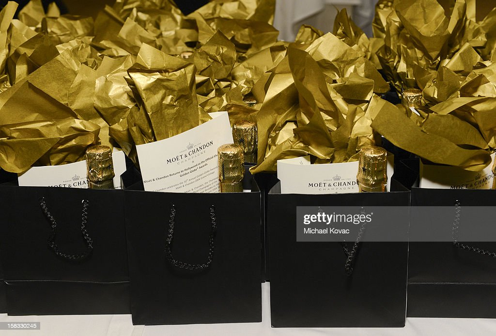 General view of atmosphere at the 70th Annual Golden Globe Nominations with Moet & Chandon at the The Beverly Hilton on December 13, 2012 in Los Angeles, California.