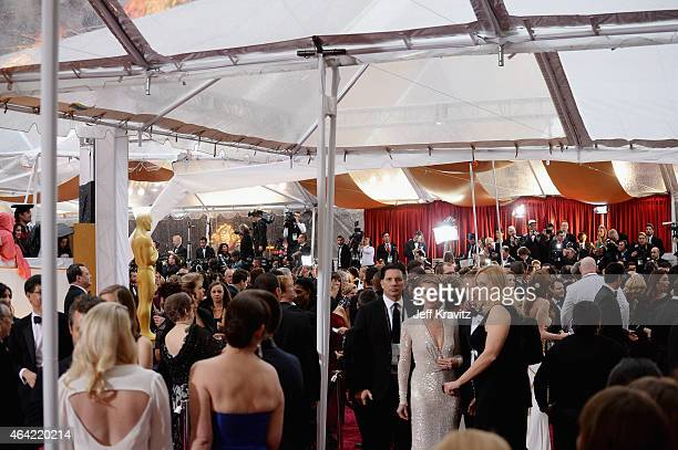 A general view of atmosphere at the 87th Annual Academy Awards at Hollywood Highland Center on February 22 2015 in Hollywood California