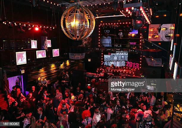General view of atmosphere at the 9th Annual Paper Nightlife awards at Marquee on October 17 2013 in New York City