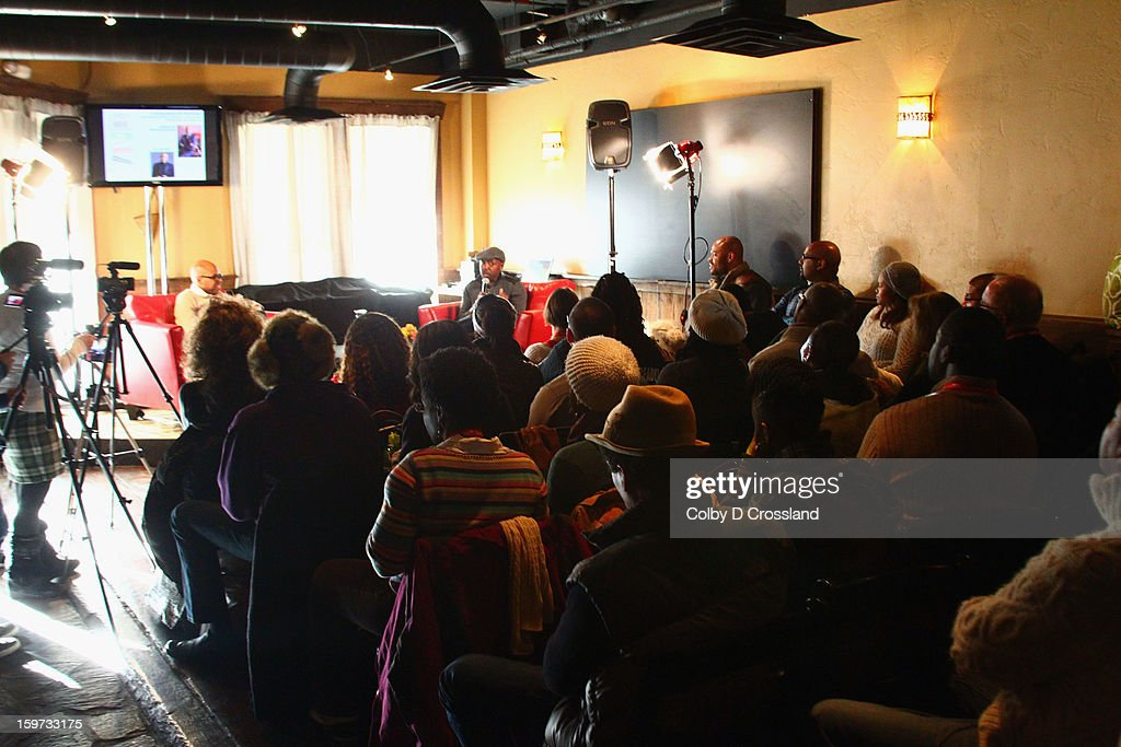 A general view of atmosphere at The Academy And Blackhouse Partner on Talk with Filmmaker Will Packer At Sundance at Buona Vita during the 2013 Sundance Film Festival on January 19, 2013 in Park City, Utah.