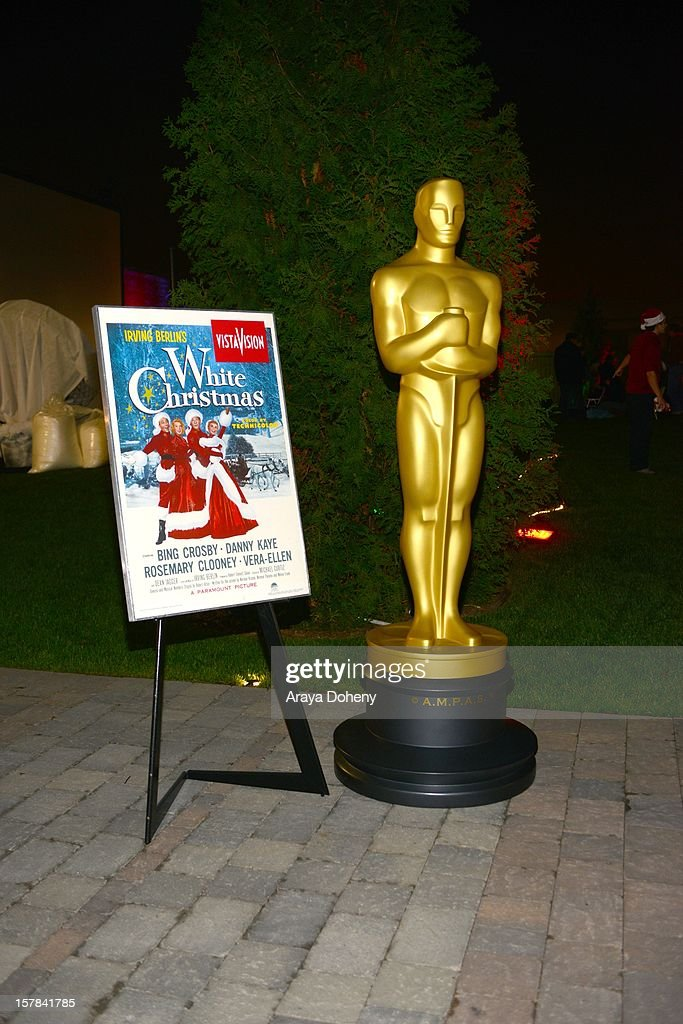 A general view of atmosphere at the Academy of Motion Picture Arts and Sciences screening of 'White Christmas' held at Oscars Outdoors on December 6, 2012 in Hollywood, California.