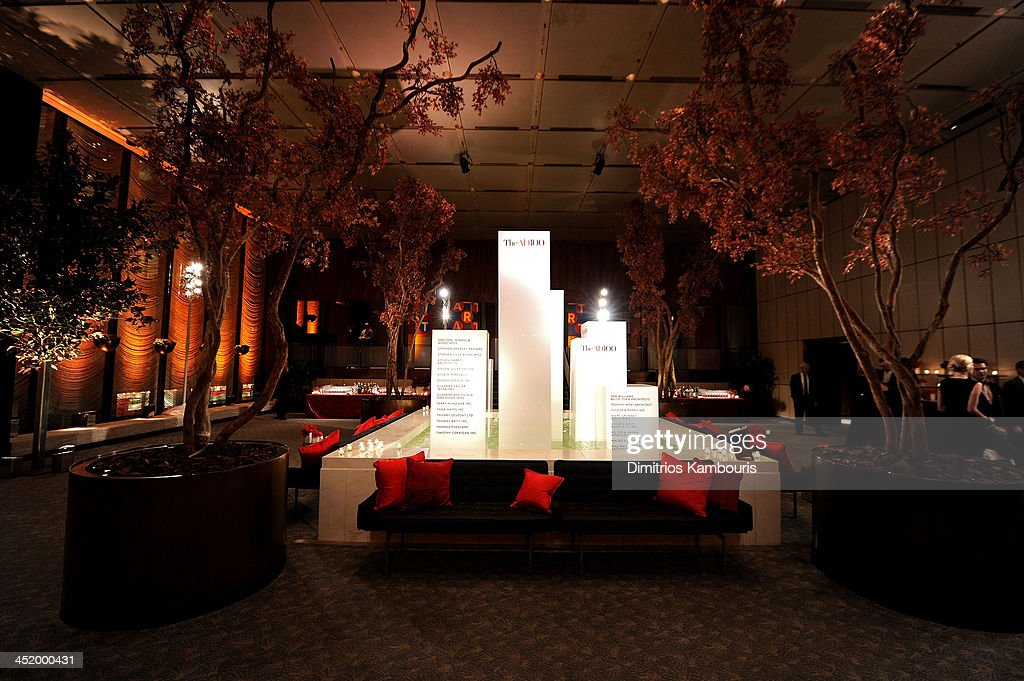 A general view of atmosphere at The AD100 Gala Hosted By Architectural Digest Editor In Chief Margaret Russell at The Four Seasons Restaurant on November 25, 2013 in New York City.
