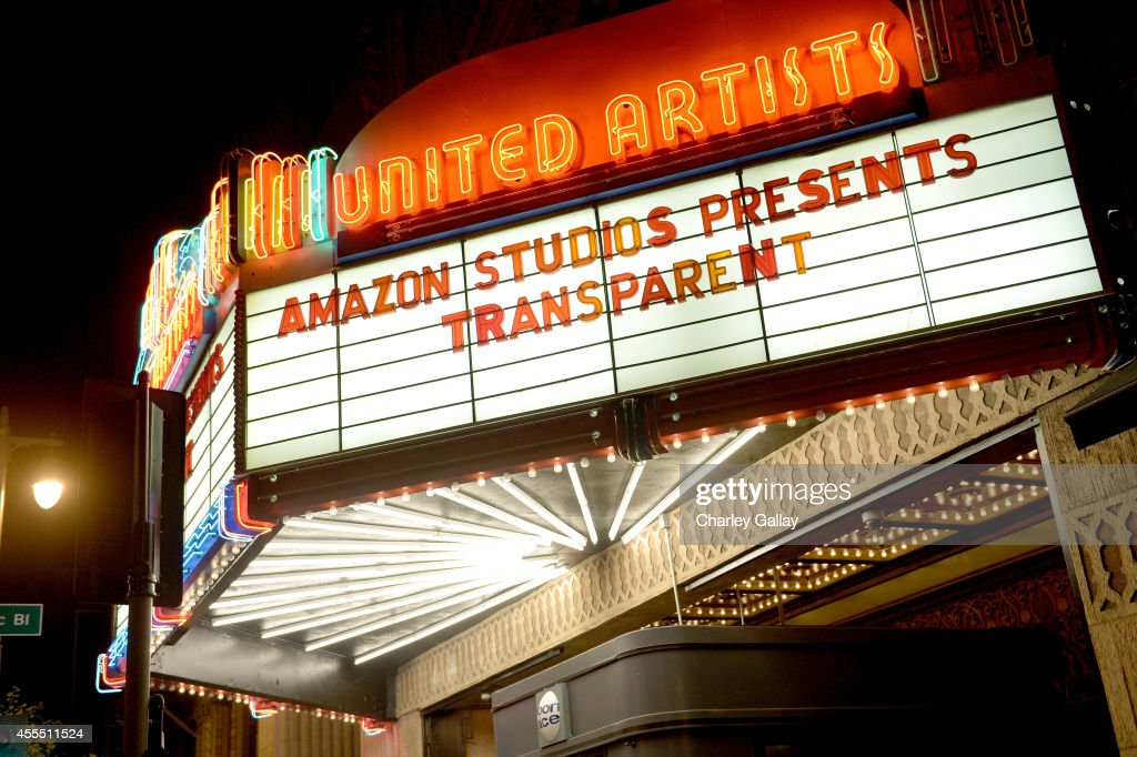 A general view of atmosphere at the Amazon red carpet premiere screening for brandnew dark comedy 'Transparent' The Theatre at Ace Hotel on September...