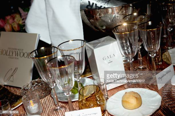 A general view of atmosphere at the amfAR Gala Cannes 2017 at Hotel du CapEdenRoc on May 25 2017 in Cap d'Antibes France