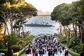 A general view of atmosphere at the amfAR's 23rd Cinema Against AIDS Gala at Hotel du CapEdenRoc on May 19 2016 in Cap d'Antibes France