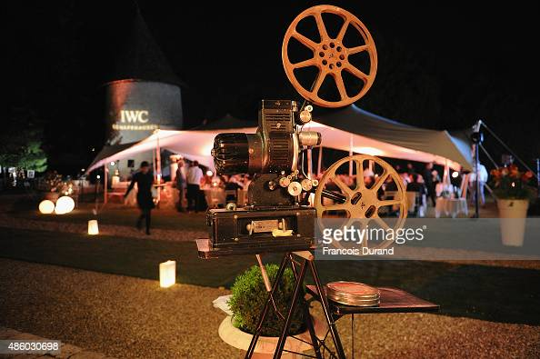 A general view of atmosphere at the Angouleme film festival closing dinner hosted by IWCduring the Festival du Film Francophone d'Angouleme on August...