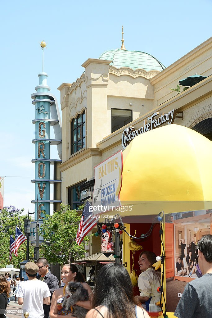 A general view of atmosphere at the 'Arrested Development' Bluth's Original Frozen Banana Stand Second Los Angeles Location at The Grove on May 21, 2013 in Los Angeles, California.
