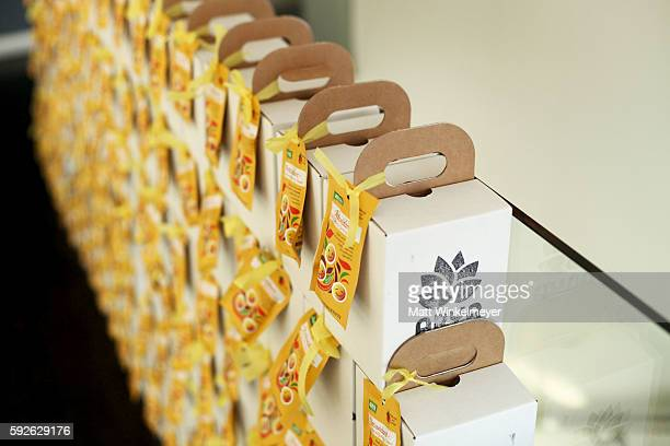 A general view of atmosphere at the ARYA Curcumin Presents The Yellow Social at Private Residence on August 20 2016 in Los Angeles California