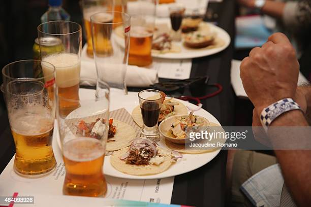 A general view of atmosphere at the Bank of America Lifestyle Seminar Tacos and Beer hosted by Todd Erickson and Evan Benn during the 2015 Food...