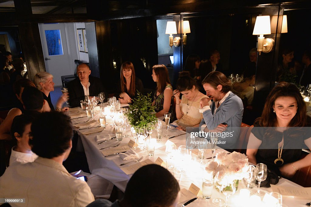A general view of atmosphere at the Casadei dinner at Omar's, hosted by Julia Restoin Roitfeld and Cesare Casadei celebrating Resort 2014 at on June 5, 2013 in New York City