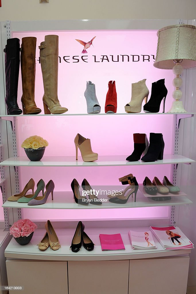 A general view of atmosphere at the Chinese Laundry Fall 2013 Preview hosted by Kristin Cavallari on March 20, 2013 in New York City.