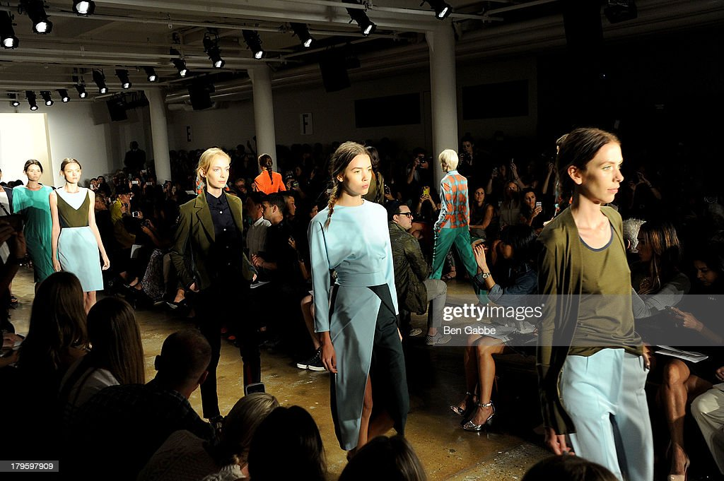 A general view of atmosphere at the Costello Tagliapietra fashion show during MADE Fashion Week Spring 2014 at Milk Studios on September 5, 2013 in New York City.