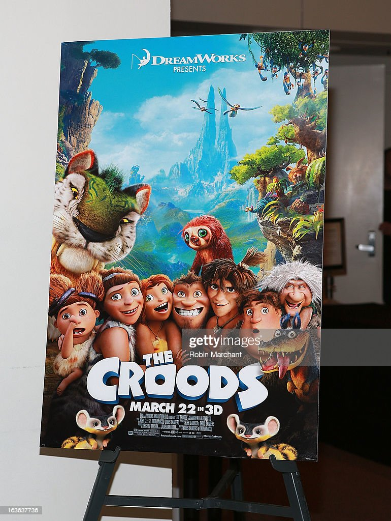 General view of atmosphere at 'The Croods' screening at The Film Society of Lincoln Center, Walter Reade Theatre on March 13, 2013 in New York City.