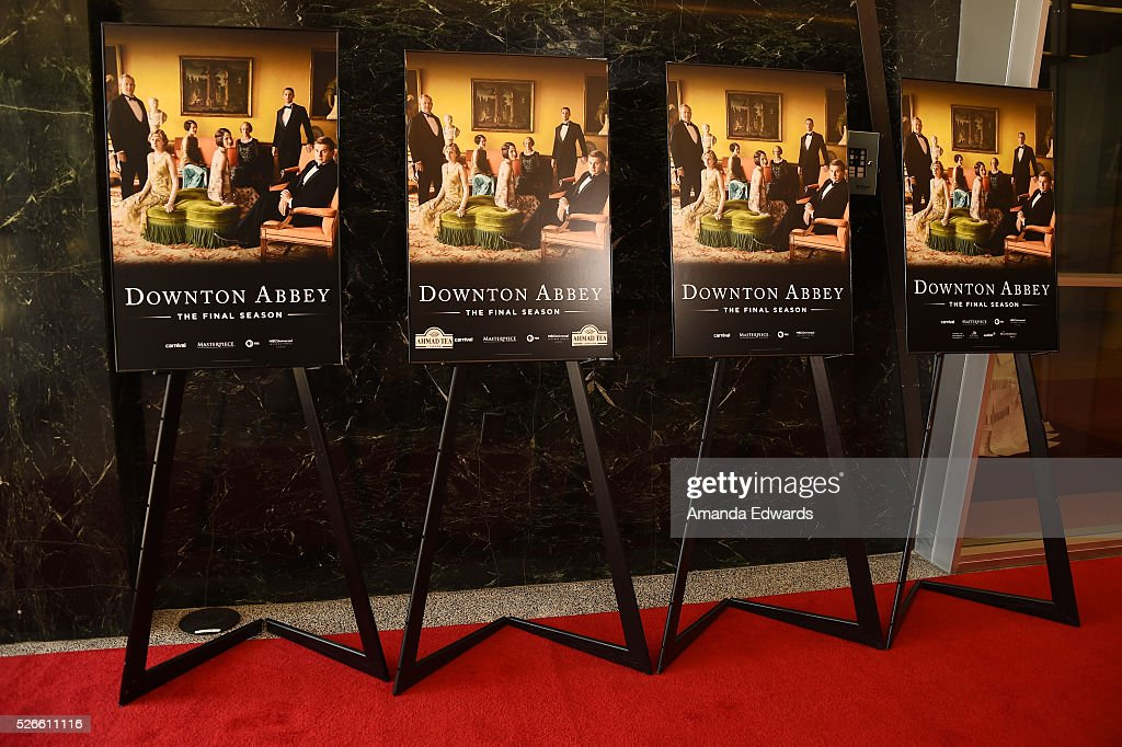 A general view of atmosphere at the 'Downton Abbey' For Your Consideration event and reception at the Linwood Dunn Theater at the Pickford Center for Motion Study on April 30, 2016 in Hollywood, California.
