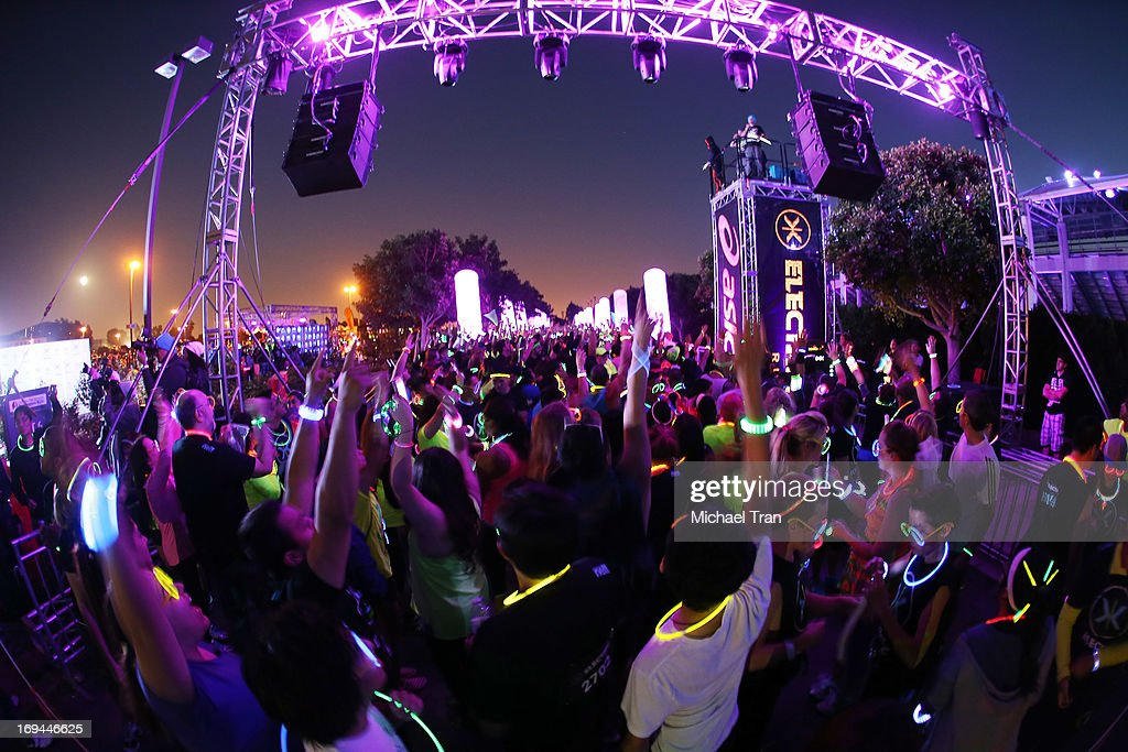 A general view of atmosphere at the Electric Run LA held at The Home Depot Center on May 24, 2013 in Carson, California.