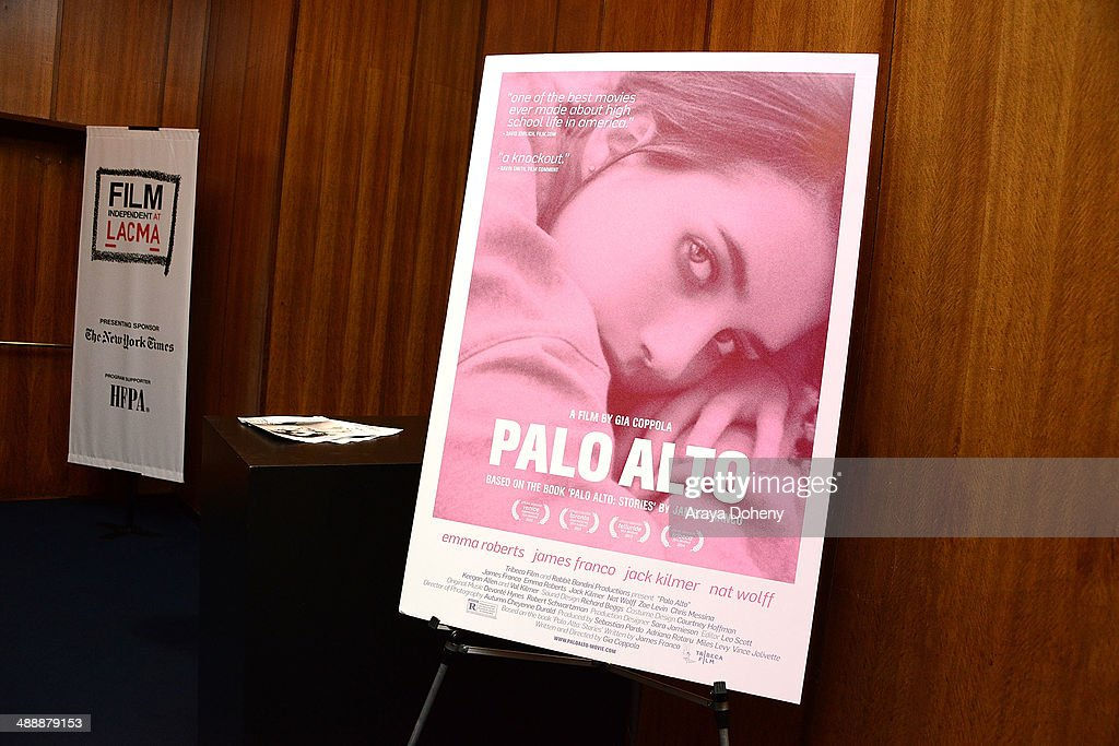 A general view of atmosphere at the Film Independent at LACMA screening QA of Palo Alto at Bing Theatre At LACMA on May 8 2014 in Los Angeles...