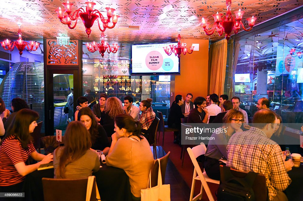 A General View Of Atmosphere At The Film Independent Sloan Summit At The Conga  Room At