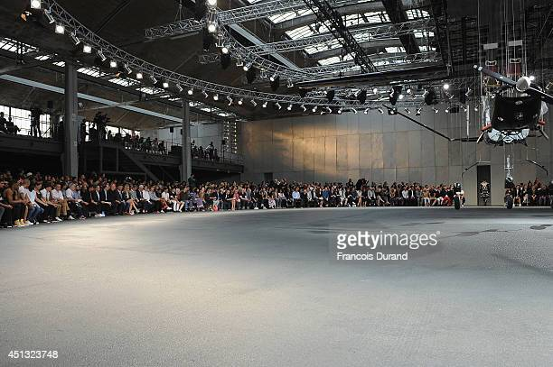 A general view of atmosphere at the Givenchy show as part of the Paris Fashion Week Menswear Spring/Summer 2015 on June 27 2014 in Paris France