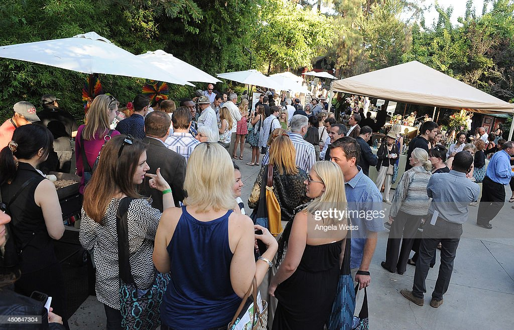 A general view of atmosphere at the Greater Los Angeles Zoo Association (GLAZA) 44th Annual Beastly Ball at Los Angeles Zoo on June 14, 2014 in Los Angeles, California.
