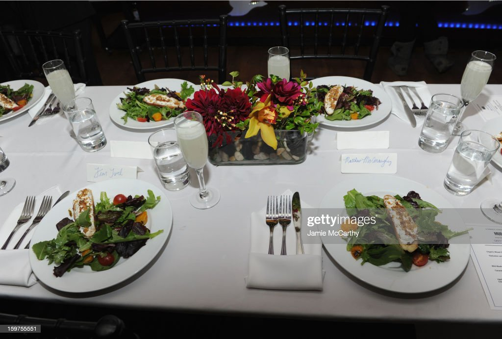 A general view of atmosphere at the Grey Goose Blue Door 'Mud' Dinner on January 19, 2013 in Park City, Utah.