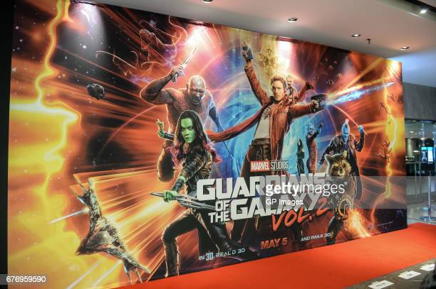 A general view of atmosphere at the Guardians Of The Galaxy Vol 2' Toronto Screening held at Varsity Theatre on May 2 2017 in Toronto Canada