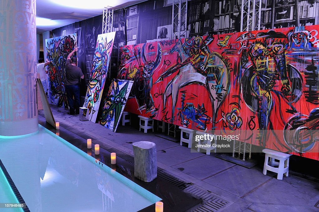 A general view of atmosphere at the Haute Living Hublot And Ferrari Honor Domingo Zapata For Art Basel 2012 on December 7, 2012 in Miami, United States.