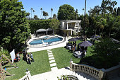 A general view of atmosphere at the June Moss Launch Party hosted by Becca Tobin at a private residence on April 8 2015 in Beverly Hills California