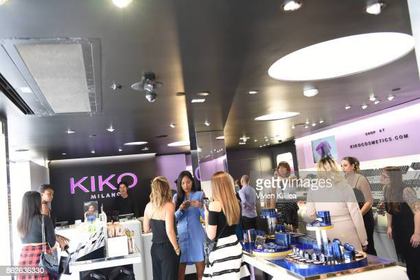 A general view of atmosphere at the Kiko Milano Hollywood Venue on October 14 2017 in Hollywood California