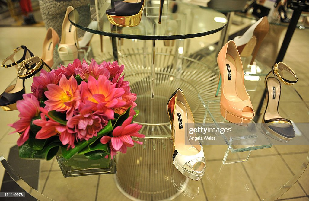 A general view of atmosphere at the launch of Ruthie Davis' new collection at Bloomingdales Century City on March 23, 2013 in Century City, California.