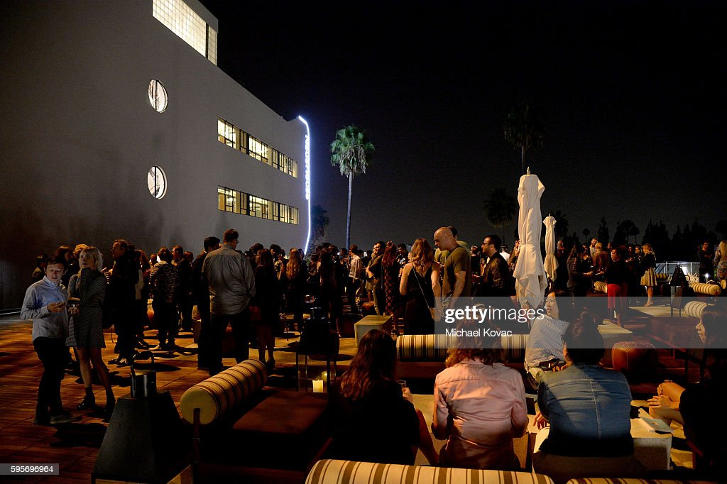 General view of atmosphere at the Los Angeles Premiere of 'Author The JT Leroy Story' at NeueHouse Hollywood on August 25 2016 in Los Angeles...