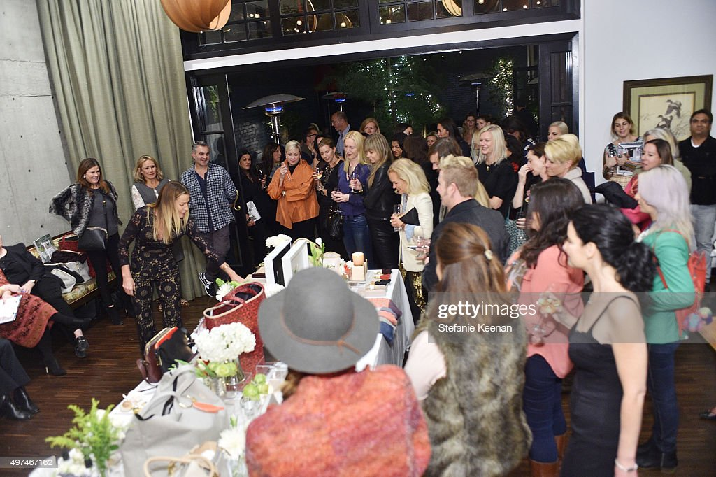 General view of atmosphere at the Louise Roe And George Hamilton Celebrate India Hicks With Exclusive Shopping Event at Palihouse on November 16 2015...