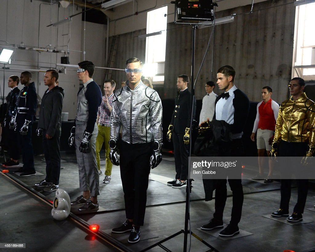 A general view of atmosphere at the Marlon Gobel Fashion Show during MercedesBenz Fashion Week Spring 2015 at Park Avenue Armory on September 10 2014...