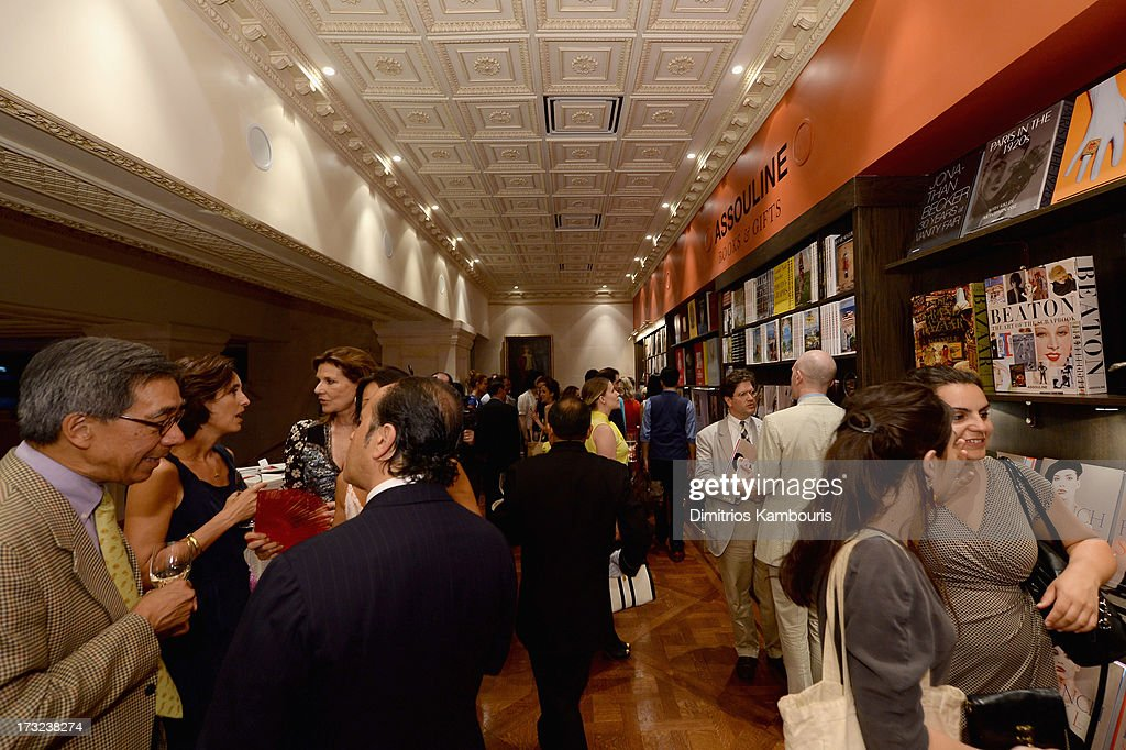 General view of atmosphere at the Martine and Prosper Assouline host book signing for author Berenice Vila Baudry's 'French Style' with the Ambassador of France Francois Delattre at Assouline at The Plaza Hotel on July 9, 2013 in New York City.