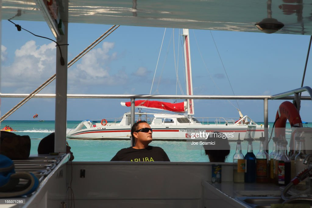 A general view of atmosphere at the media snorkling trip during day 3 of Aruba In Style 2012 on November 3, 2012 in Oranjestad, Aruba.