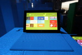 A general view of atmosphere at the Microsoft Windows 8 launch at Pier 57 on October 25 2012 in New York City