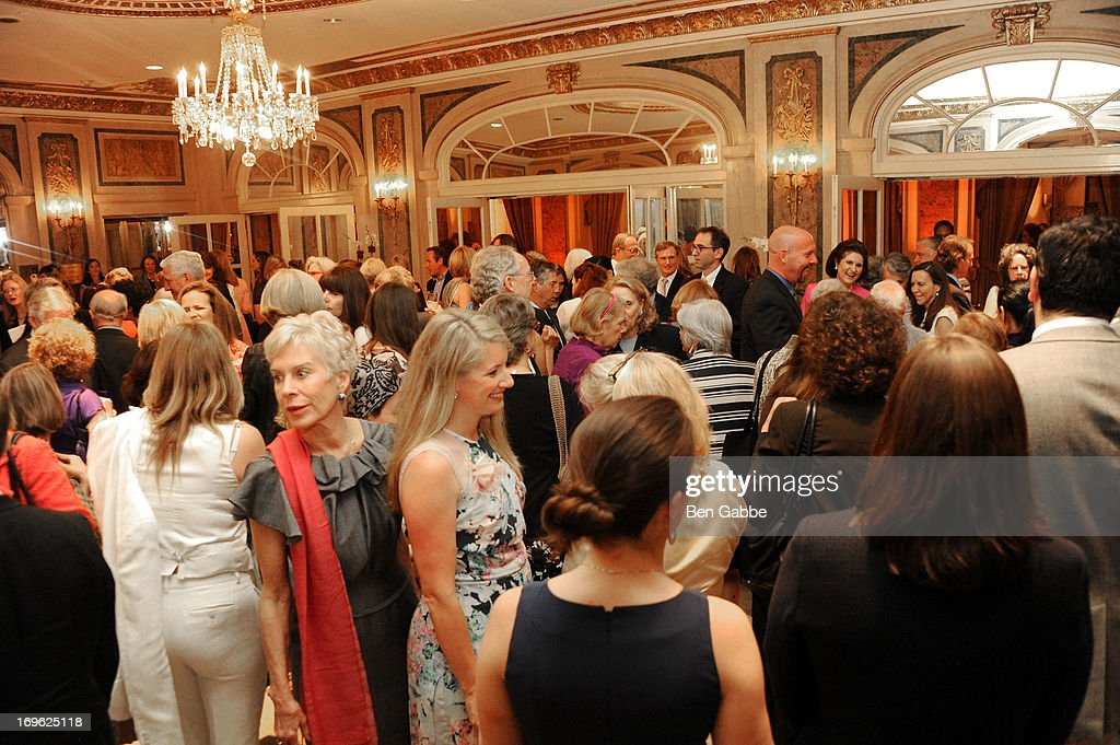 A general view of atmosphere at The National Audubon Society 10th Anniversary Women in Conservation Luncheon on May 29, 2013 in New York, United States.