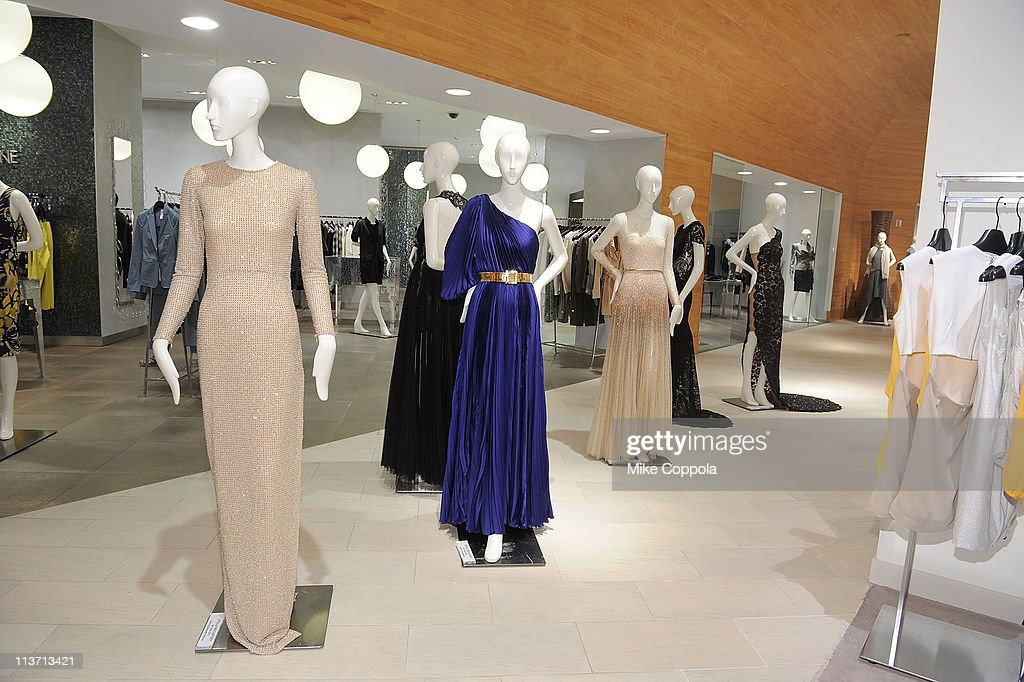 A general view of atmosphere at the new Stella McCartney boutique at Saks Fifth Avenue on May 4, 2011 in New York City.