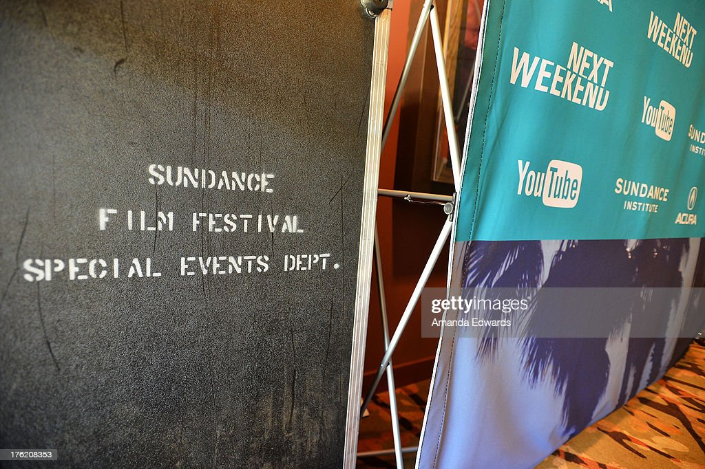 A general view of atmosphere at the NEXT WEEKEND Presented By Sundance Institute -